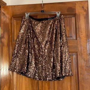 Rose Gold Sequence Skirt
